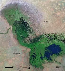 Lake Chad 2007